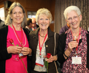 Photo of three women. Link to Life Stage Gift Planner Over Age 65 Situations.