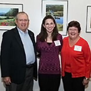 Photo of John and Joan Brooks with Wendy Kosakowski. Link to their story.